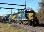 CSX 8817, 8767, 670 & windmill cars on Q418